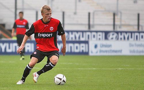 Marcel Titsch-Rivero im Spiel gegen Reutlingen. Foto: Stefan Krieger