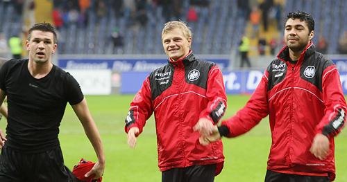 Marcel Titsch-Rivero nach dem Spiel gegen Hannover 96